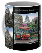 Matterhorn Mountain Disneyland Collage Coffee Mug