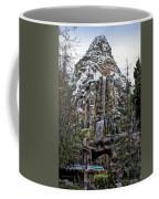 Matterhorn Mountain With Bobsleds At Disneyland Coffee Mug