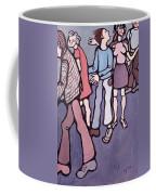 Maudsley Hospital Inmates, 1974 Oil On Canvas Coffee Mug