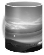 Maui Full Moonset At Sunrise Coffee Mug