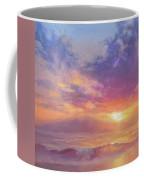 Coastal Hawaiian Beach Sunset Landscape And Ocean Seascape Coffee Mug