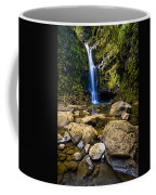 Maui Waterfall Coffee Mug by Adam Romanowicz