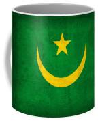 Mauritania Flag Vintage Distressed Finish Coffee Mug