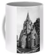 Mausoleum New England Black And White Coffee Mug