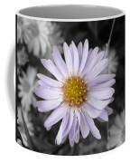 Mauve Beauty W-black And White Coffee Mug