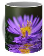 Mauve Softness And Reflections Coffee Mug by Kaye Menner