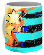 Max Stars And Stripes In Inverted Colors Coffee Mug