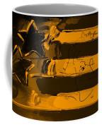 Max Stars And Stripes In Orange Coffee Mug