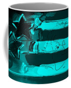 Max Stars And Stripes In Turquois Coffee Mug