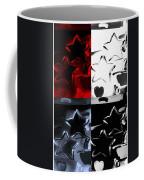 Max Two Stars In Quad Colors Coffee Mug