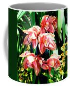 Joy Orchids Coffee Mug