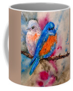 Maybe She's A Bluebird Cropped Coffee Mug
