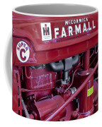 Mc Cormick Farmall Super C Coffee Mug by Susan Candelario