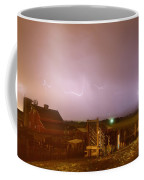 Mcintosh Farm Lightning Thunderstorm View Coffee Mug