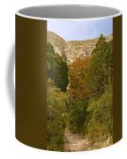 Mckittrick Canyon Trail Coffee Mug