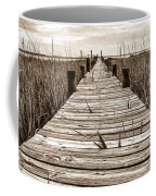 Mcteer Dock - Sepia Coffee Mug