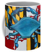 Md Blue Crab Coffee Mug
