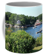 Round Pond Scene Coffee Mug