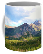Meadow And Mountains Coffee Mug by Kathleen Struckle