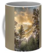 Meadow Sunset Gold Coffee Mug