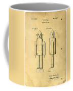 Mechanical Man Patent Coffee Mug