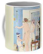 Medical Massage Coffee Mug by Joseph Kuhn-Regnier