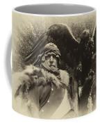 Medieval Barbarian Artur And Spirit 2 Coffee Mug