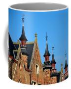 Medieval Buildings Towers And Vanes Coffee Mug