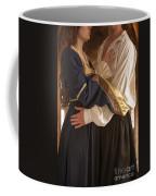 Medieval Couple Embracing Coffee Mug