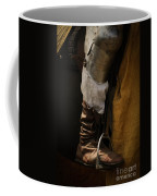 Medieval Faire Boot Detail 2 Coffee Mug