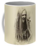 Medieval Female Gladiator Coffee Mug