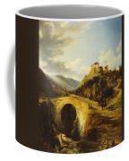 Medieval Landscape Coffee Mug