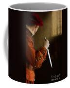 Medieval Man With Dagger Coffee Mug