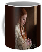 Medieval Tudor Woman With Red Hair  Coffee Mug