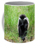 Meditating Monkey Coffee Mug