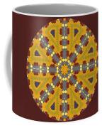 Meditating On Life - Mandala Coffee Mug