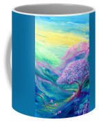 Meditation In Mauve Coffee Mug