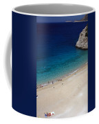 Mediterranean Coastal Scene Coffee Mug