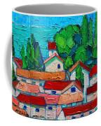 Mediterranean Roofs 1 2 3 Coffee Mug