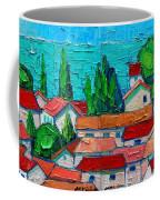 Mediterranean Roofs 1 2 Coffee Mug