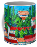 Mediterranean Roofs 2 3 4 Coffee Mug