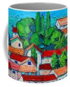 Mediterranean Roofs 2 3 Coffee Mug