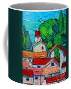 Mediterranean Roofs 2 Coffee Mug