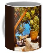 Mediterranean Steps Coffee Mug by Pixel Chimp