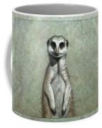 Meerkat Coffee Mug by James W Johnson