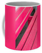 Wimberley Texas Market Red Bench Coffee Mug