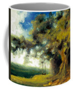 Meet Me At Our Swing Coffee Mug by Melissa Herrin