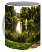 Meet Me By The Fountain Coffee Mug