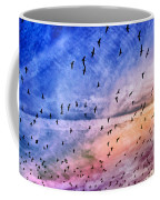 Meet Me Halfway Across The Sky 2 Coffee Mug by Angelina Vick
