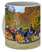 Meeting Of The Carriages Coffee Mug